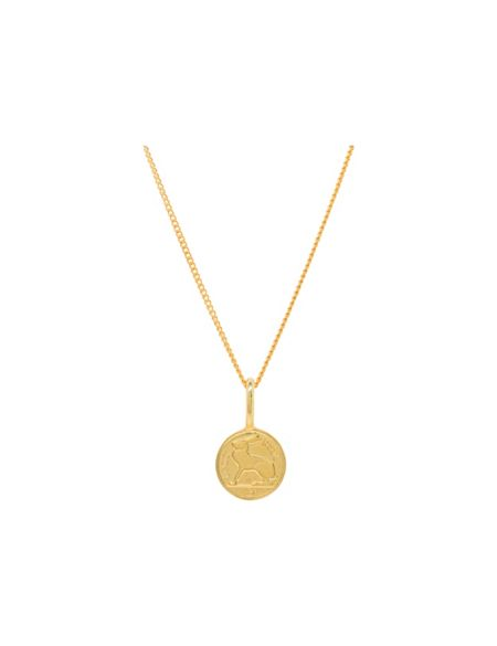 Katie Mullally Gold plated 3p irish coin and chain
