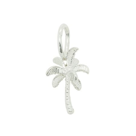 Katie Mullally Silver palm tree charm