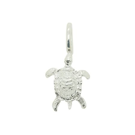 Katie Mullally Silver turtle charm