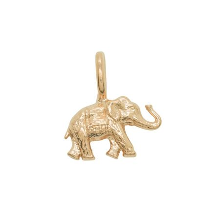 Katie Mullally Rose elephant charm