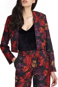 Wolf & Whistle Hydrangea Print Jacket