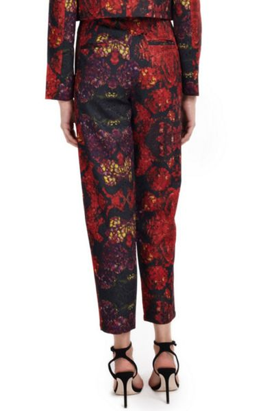 Wolf & Whistle Hydrangea Print Trousers