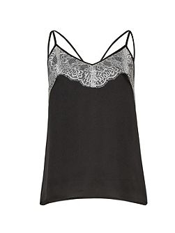 Lace Overlay Camisole