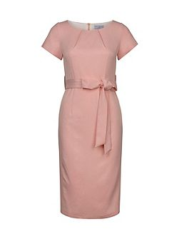 Midi Length Belted Dress