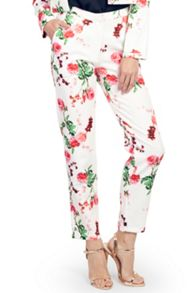 Wolf & Whistle Carnations Textured Trousers