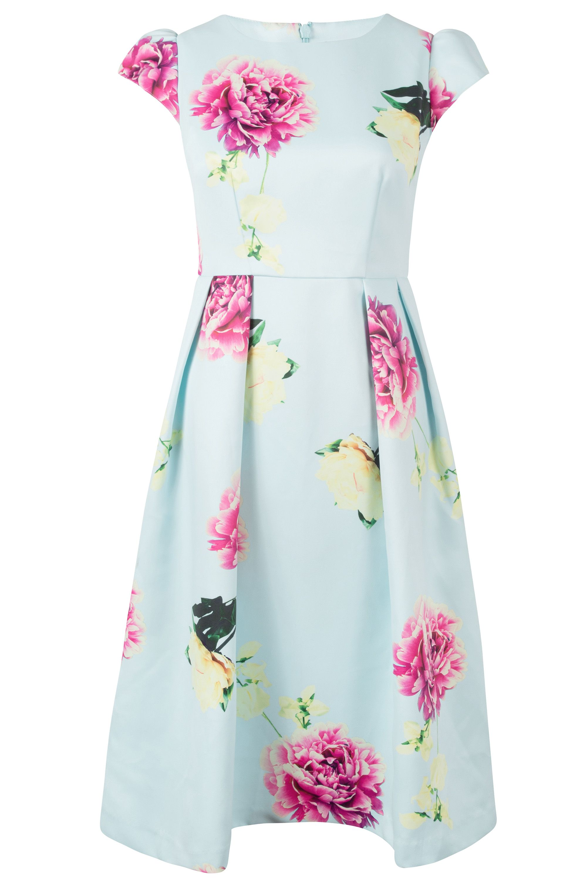 Wolf & Whistle Wolf & Whistle Sweetpea Prom Dress, Multi-Coloured