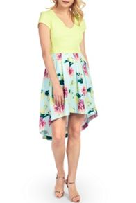 Wolf & Whistle Sweetpea Cut Out Dress