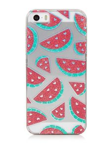 Skinnydip Iphone 5 Glitter Watermelon Case