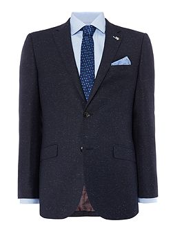 Blue fleck slim fit suit