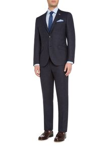 Original Penguin Blue fleck slim fit suit