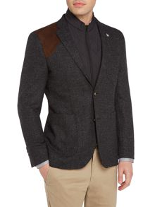 Original Penguin Soft Boucle Jacket with zip out gilet