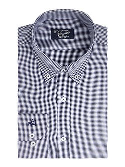 Gingham, Button Down tailored shirt