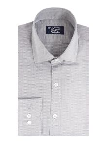 Original Penguin Dobby weave/ jacquard tailored Shirt