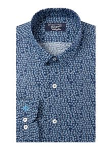 Original Penguin Swirl Printed Tailored Shirt