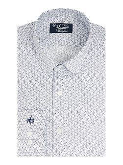 Scooter Print Tailored Shirt