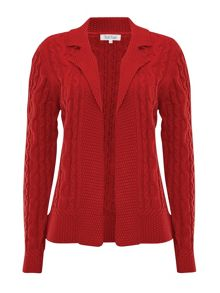 Collared cable jacket
