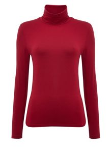 Layering roll neck t-shirt