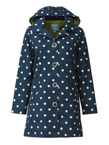 Tulchan Fleece Lined Printed Mac