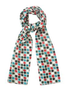 Tulchan PAINTED SPOT SCARF