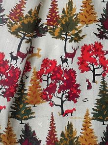 FOREST SCENE SCARF