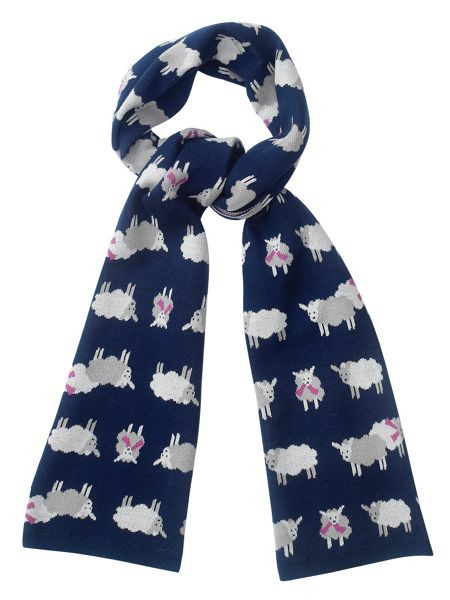 Tulchan Knitted Sheep Scarf