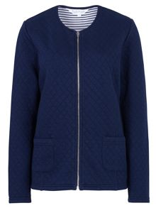 Tulchan Quilted Jersey Jacket