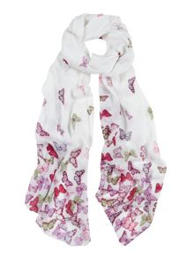 Tulchan Scattered Butterfly Scarf