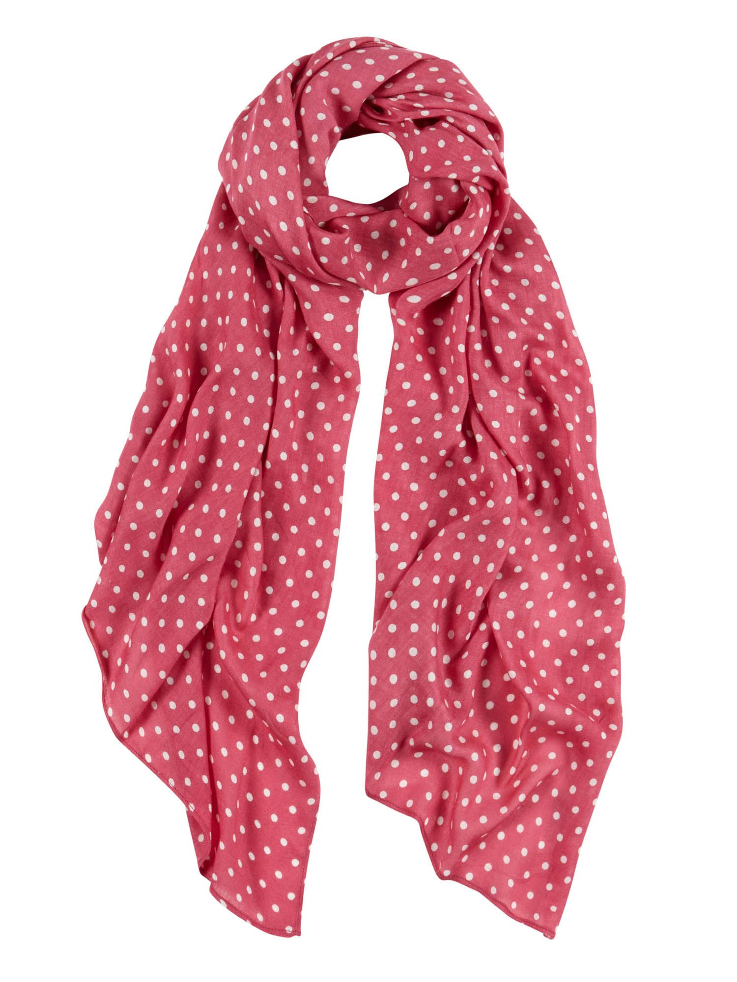Shop 1950s Hair Accessories Tulchan Polka Dot Scarf £9.99 AT vintagedancer.com