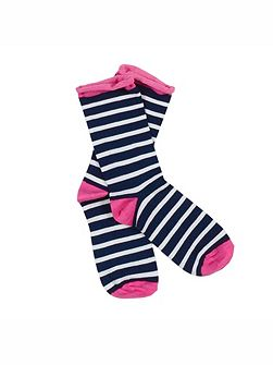 Simple Stripe Sock