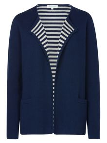 Tulchan Hidden Stripe Cardigan