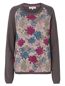 Winter Floral Jumper