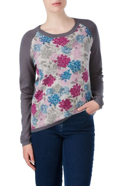 Tulchan Winter Floral Jumper