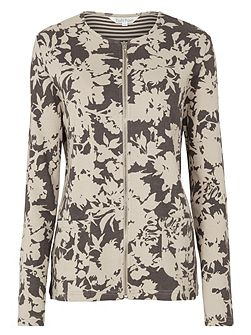 Silhouette Print Jacket