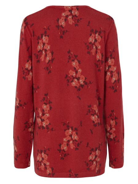 Tulchan Simple Floral Tunic Jumper