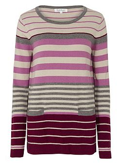 Placement Stripe Jumper