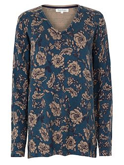 Ornamental Rose Tunic Jumper