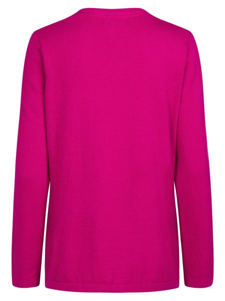 Tulchan V Neck Tunic Jumper