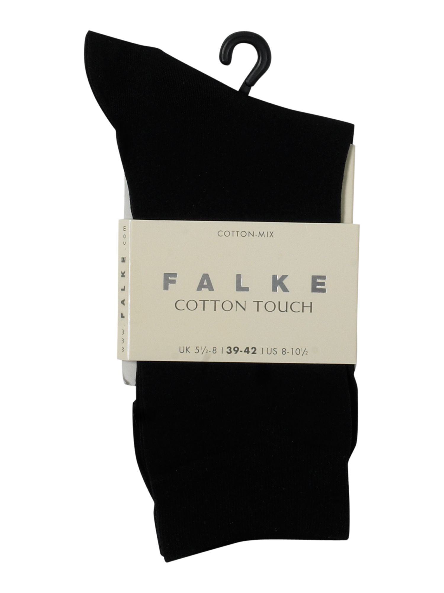 Falke Cotton touch ankle socks Black
