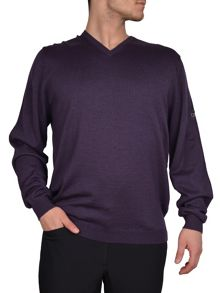 Merino v neck sweater