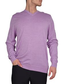 Cutter and Buck Merino v neck sweater
