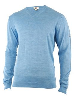 Men's Cutter and Buck Merino v neck sweater