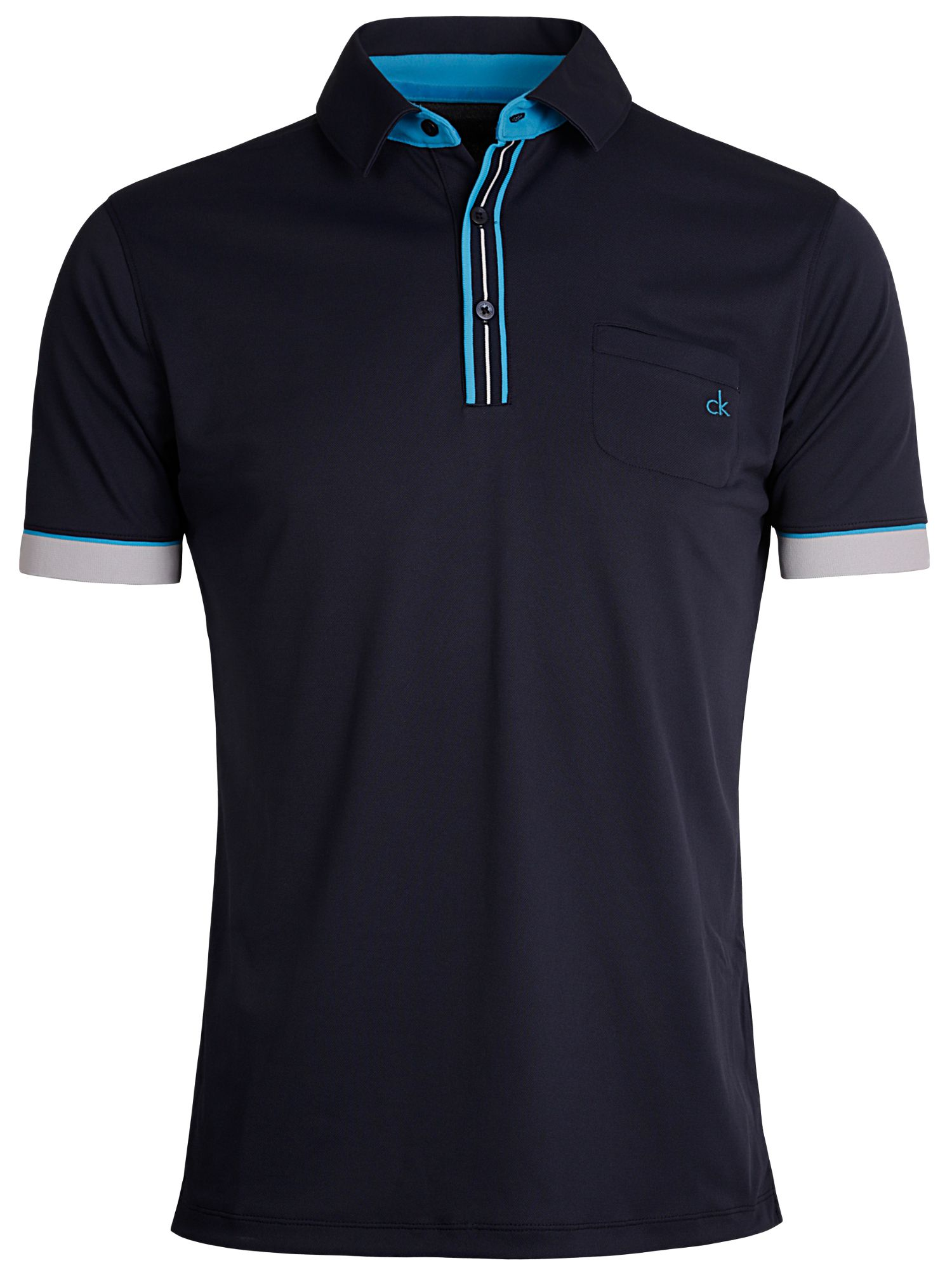 Tech pocket polo shirt