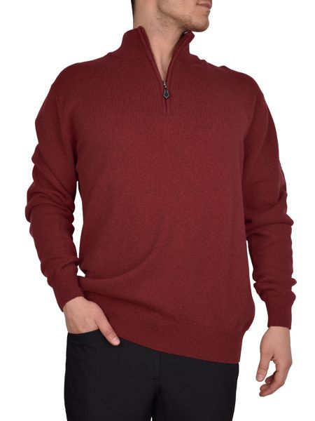 Cutter and Buck Zip neck sweater