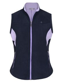 Julie bonded fleece gilet