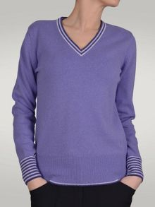 Sindy v neck superwool sweater