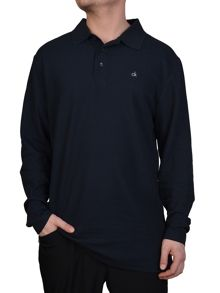Calvin Klein Golf Manhatton long sleeved polo shirt