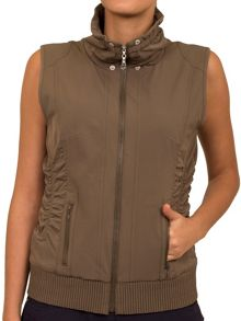 Green Lamb Jan tech gilet