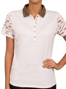 Caroline printed sleeve shirt