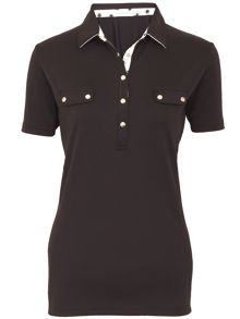 Green Lamb Catherine shirt with faux pockets