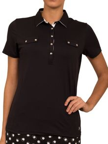 Catherine shirt with faux pockets
